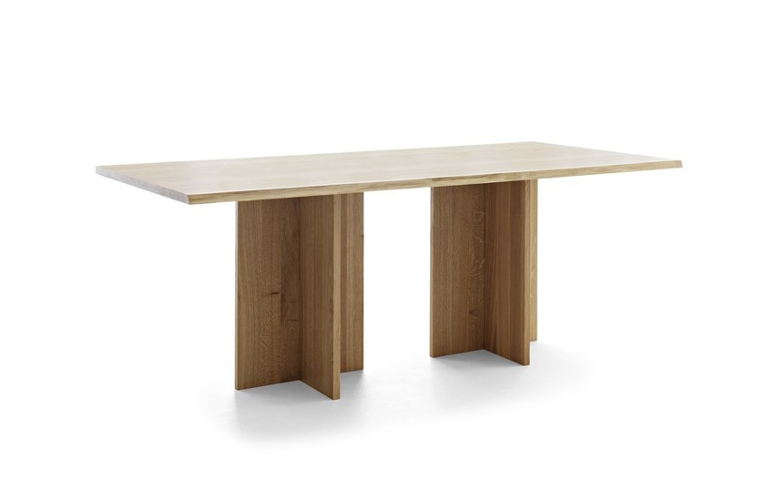Rectangular wooden table BARON by Passoni Nature