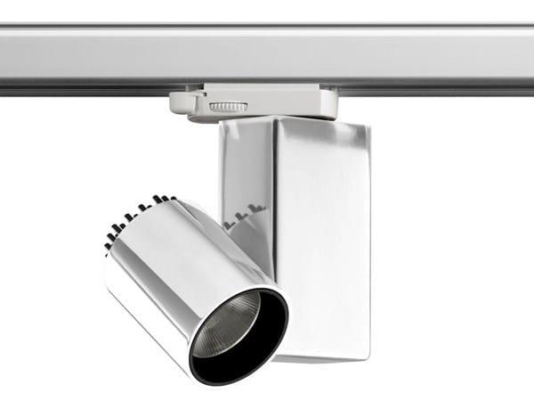 Illuminazione a binario in alluminio FORT KNOX | Illuminazione a binario by Flos
