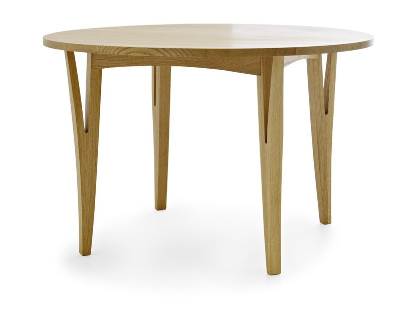 Round solid wood table MORAAR | Round table by Passoni Nature