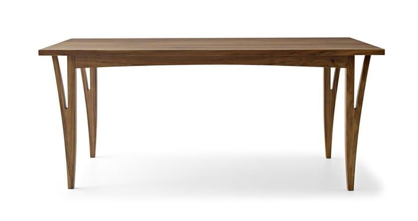 Rectangular solid wood table MORAAR | Rectangular table by Passoni Nature