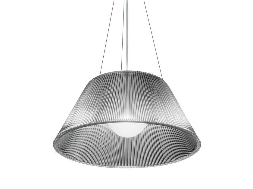 Glass pendant lamp ROMEO MOON S by FLOS