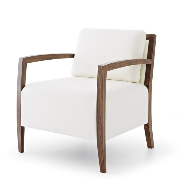 Upholstered armchair with armrests SAFFO LAZY LIGHT by Passoni Nature