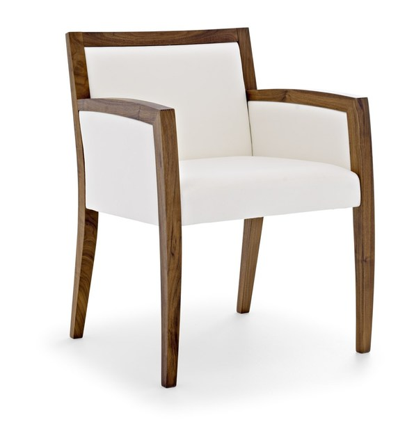 Solid wood easy chair SAFFO B by Passoni Nature