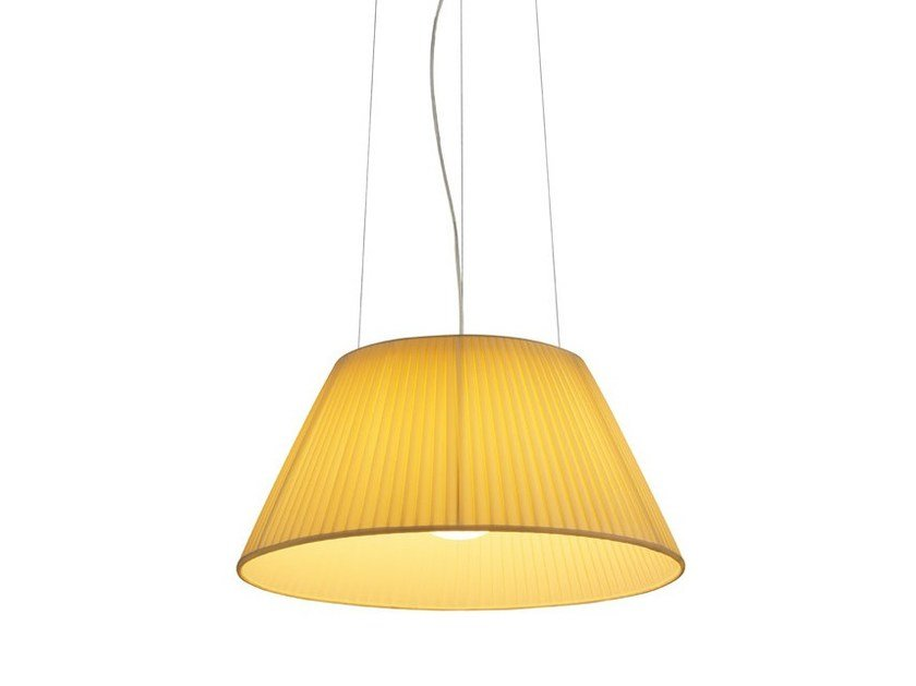 Fabric pendant lamp ROMEO SOFT S by FLOS