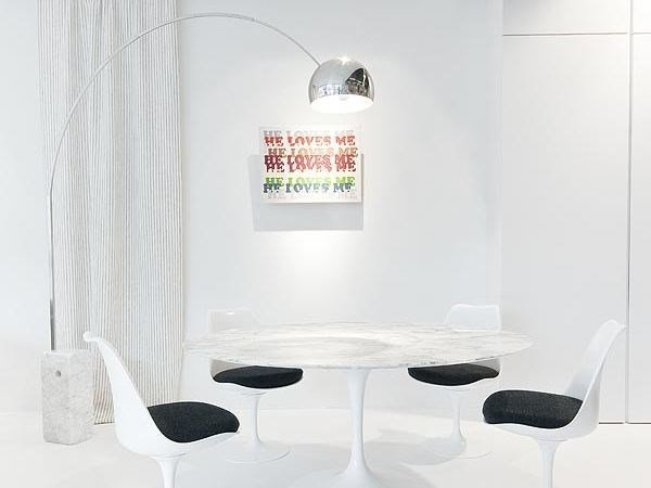 Lampada ad arco base in marmo youtube con arco flos base nera e