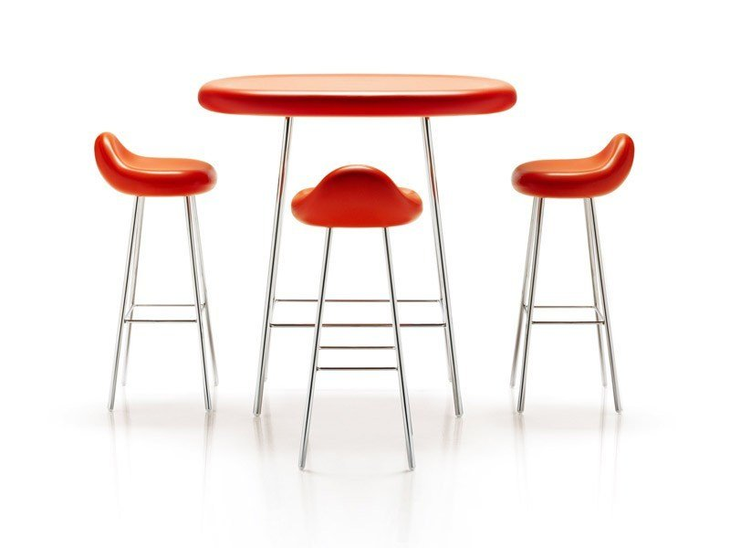 High steel barstool BLOOB | Stool by ESTEL GROUP