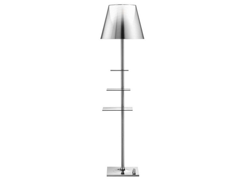 Lampada da terra a LED in Zamak BIBLIOTHEQUE NATIONALE By FLOS ...