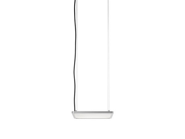 LED direct light aluminium pendant lamp SUPER FLAT by FLOS