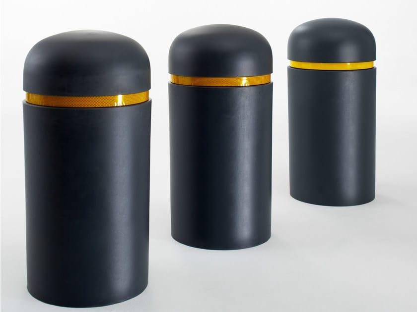 Fixed polyurethane bollard BOB by Nola Industrier