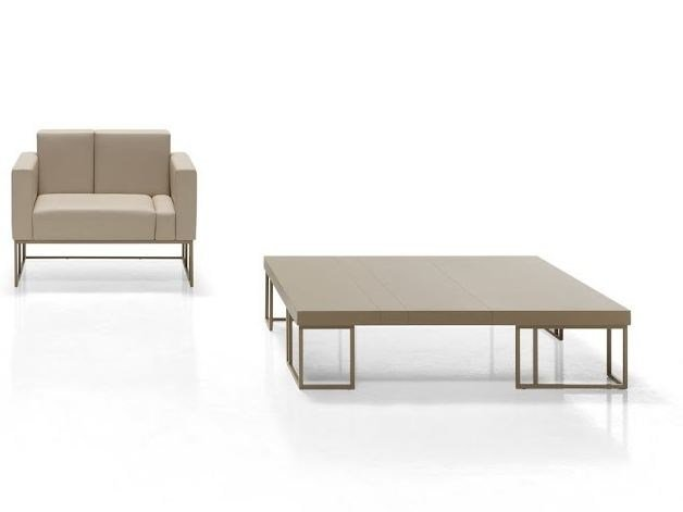 Square coffee table ELEMENTS | Coffee table by Inclass Mobles