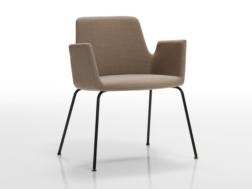 Easy chair with armrests ALTEA | Easy chair by Inclass Mobles