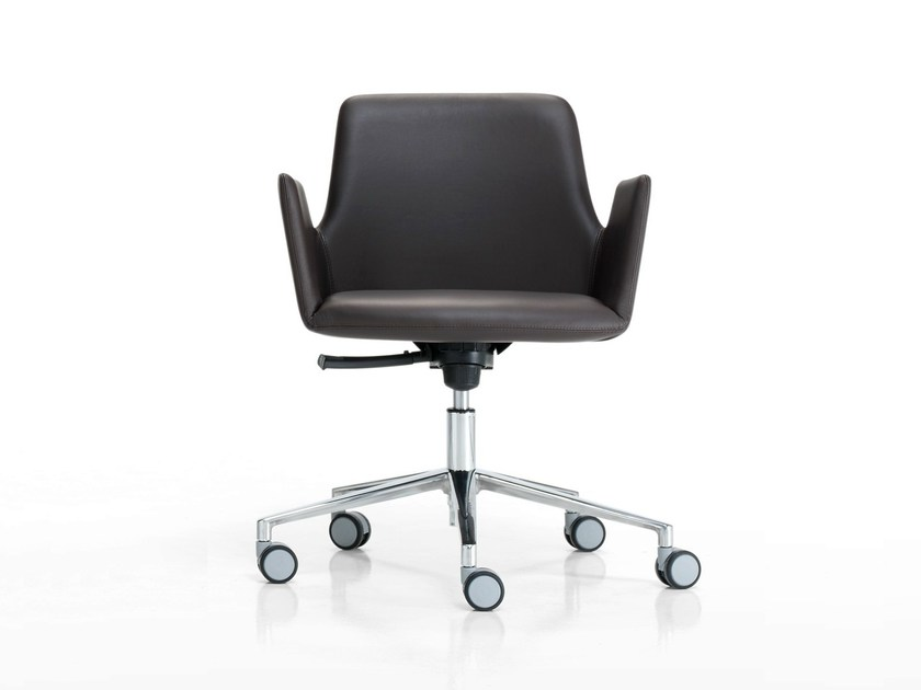 Swivel recliner task chair with 5-Spoke base ALTEA OFFICE | Task chair with armrests by Inclass Mobles