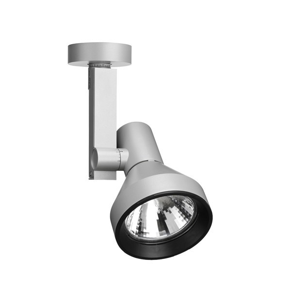 Adjustable aluminium spotlight COMPASS SPOT | Spotlight by FLOS