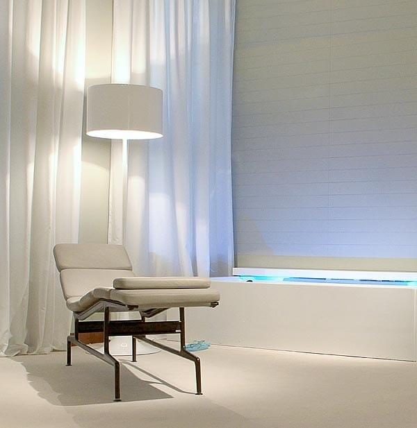 Die cast aluminium floor lamp SPUN LIGHT F By FLOS design Sebastian ...