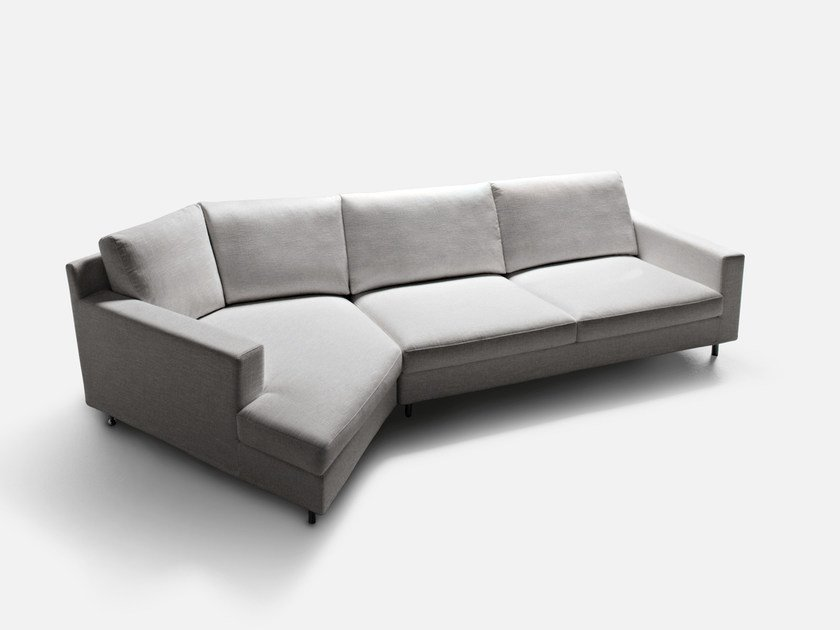 Corner sectional fabric sofa MANHATTAN | Corner sofa by La Cividina
