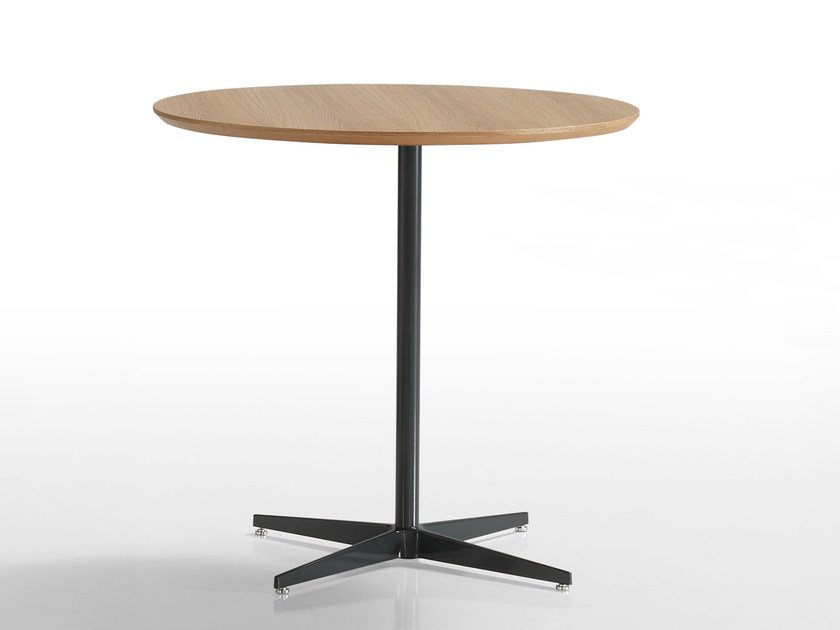 Round table with 4-star base MALIBÙ | Round table by Inclass Mobles