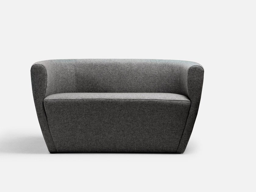 2 seater sofa with fire retardant padding TWINGO | Sofa by La Cividina