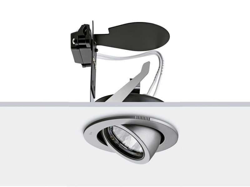 Halogen adjustable die cast aluminium spotlight ORBITAL by FLOS