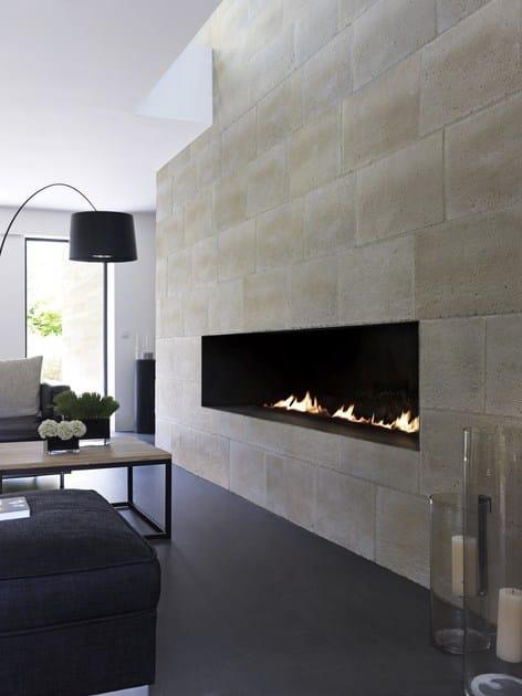 rev tement mural en pierre reconstitu e br cy by orsol. Black Bedroom Furniture Sets. Home Design Ideas
