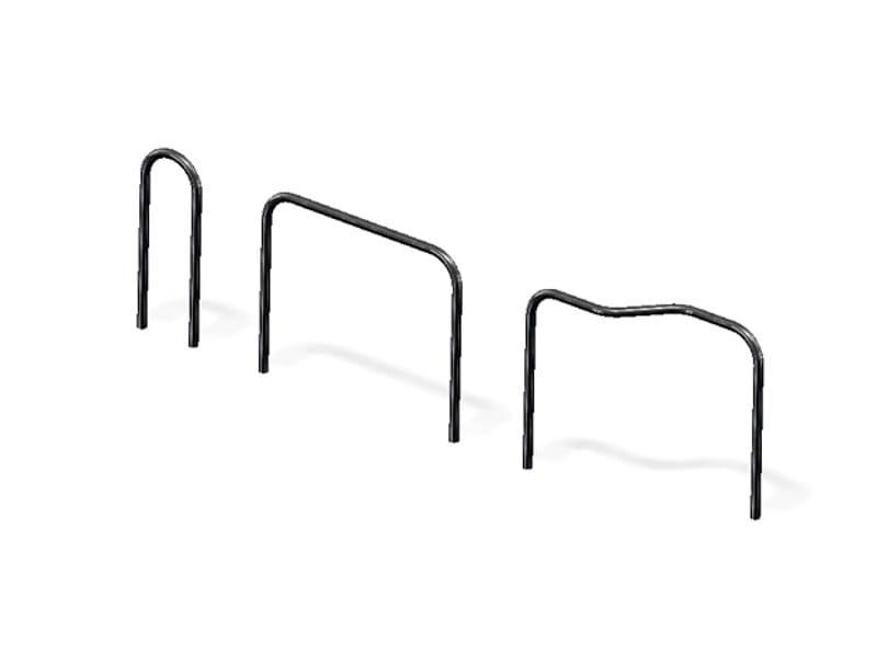 Arched steel bollard SIMPEL by Nola Industrier
