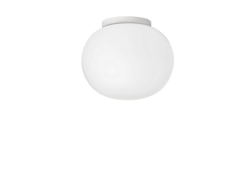Opal glass ceiling light GLO-BALL CW ZERO by Flos