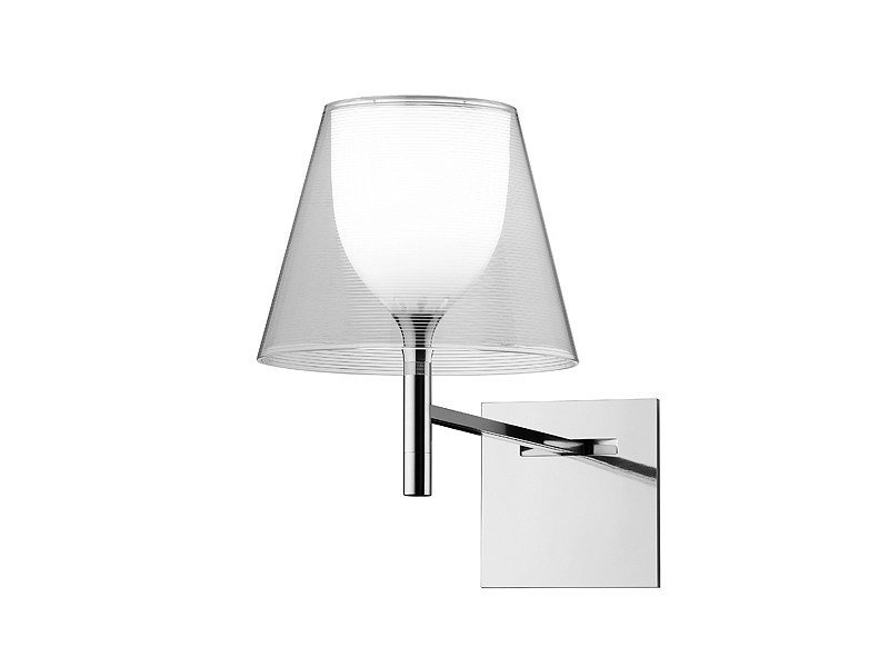 Wall lamp with fixed arm KTRIBE W by FLOS