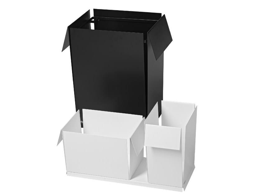 Plate waste paper bin A3,A4,A5 by Nola Industrier