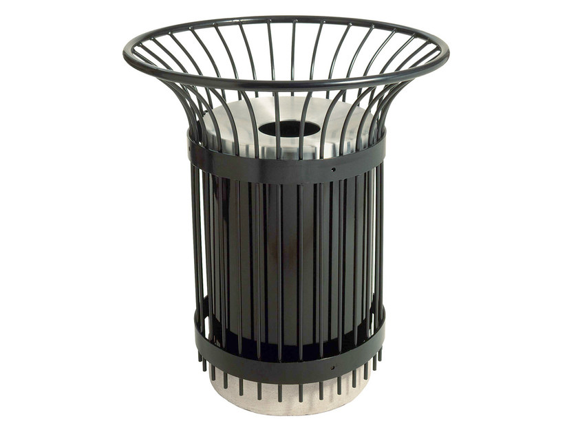 Steel litter bin BASKET by Nola Industrier
