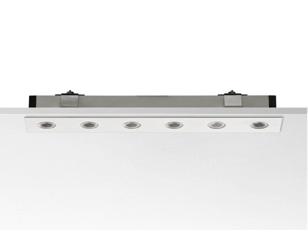 Aluminium Linear lighting profile for downlights LED CURTAIN by FLOS