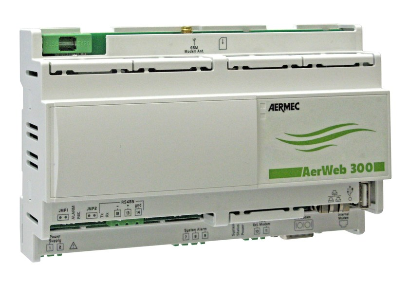Control system for air conditioning system AERWEB 300 by AERMEC