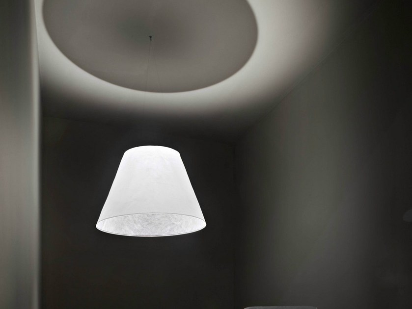 LED cellulose fibre pendant lamp SHADE by FLOS