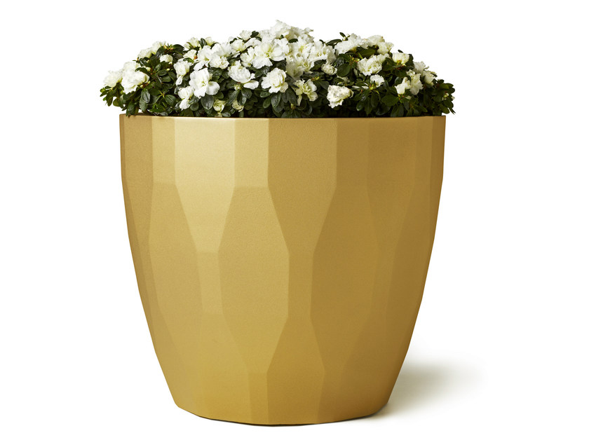 Aluminium Flower pot ARABESQUE by Nola Industrier