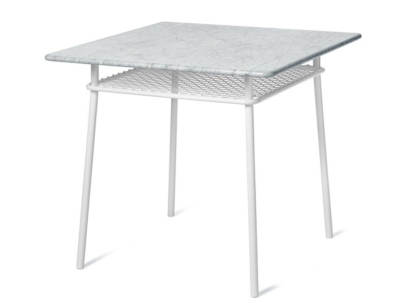 Square steel table WIMBLEDON | Square table by Nola Industrier
