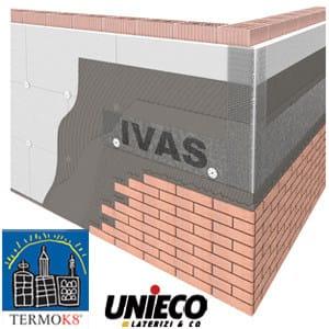 Exterior insulation system TermoK8® FACCIAVISTA by Ivas Vernici