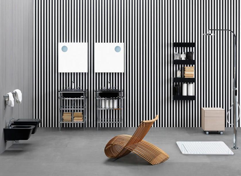 Ceramic bathroom furniture set VOLO | Bathroom furniture set by CERAMICA FLAMINIA