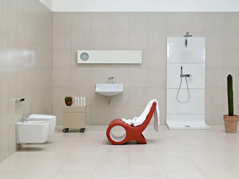 Ceramic bathroom furniture set PLATE | Bathroom furniture set by CERAMICA FLAMINIA