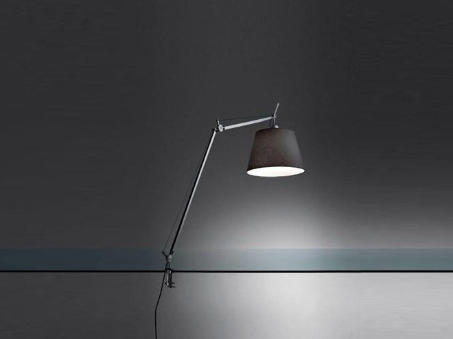 Tolomeo Mega Lampe De Table En Tissu By Artemide Design Michele De