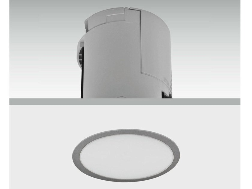 LED built-in emergency light LENS | LED emergency light by DAISALUX