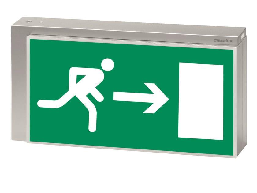 Emergency light / sign LISU | Sign by DAISALUX
