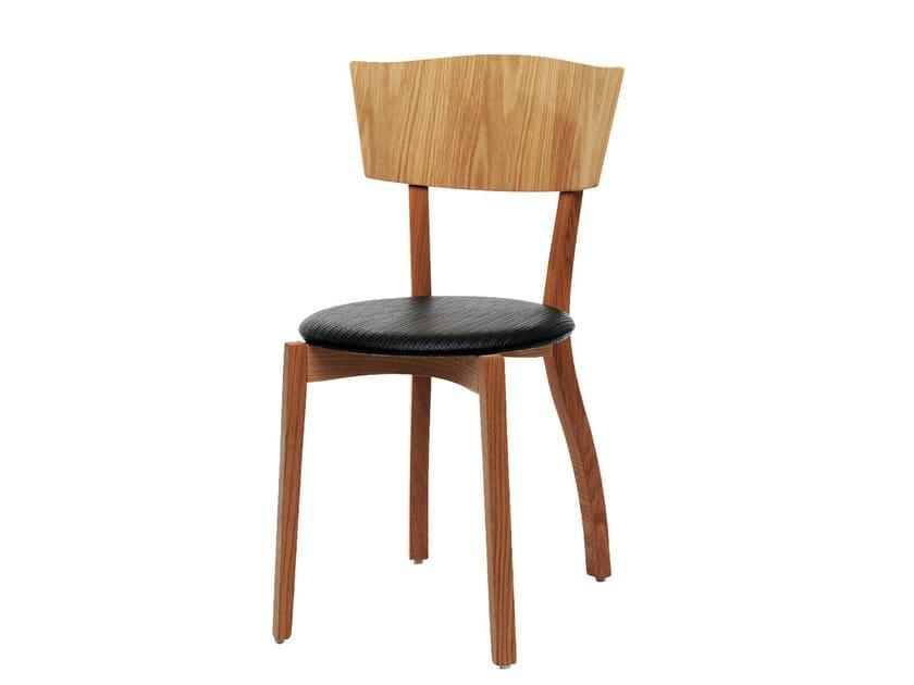 Wooden chair SAGA by Nola Industrier
