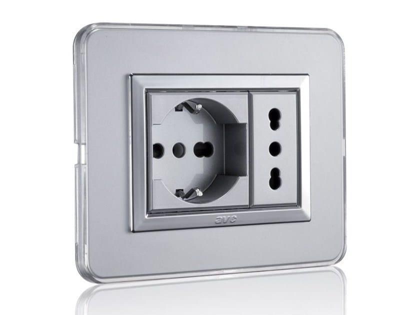 Aluminium wiring accessories ALLUMIA PERSONAL by AVE