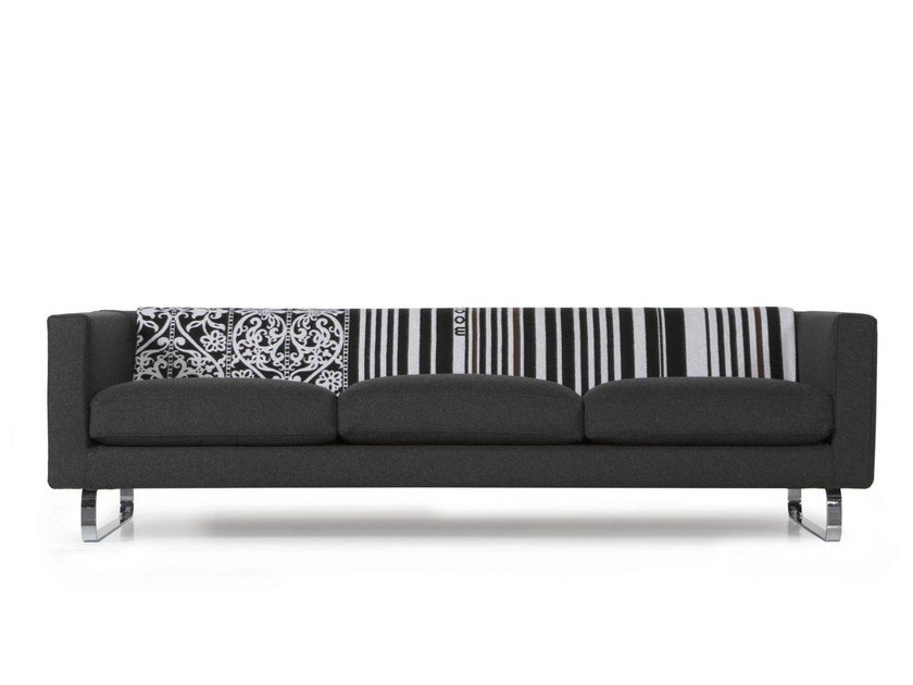 5 seater acrylic sofa BOUTIQUE BLANKET JANUARY by moooi