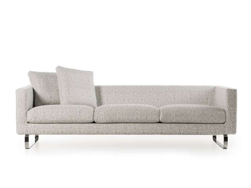 Sofa with fire retardant padding BOUTIQUE SILVER by moooi