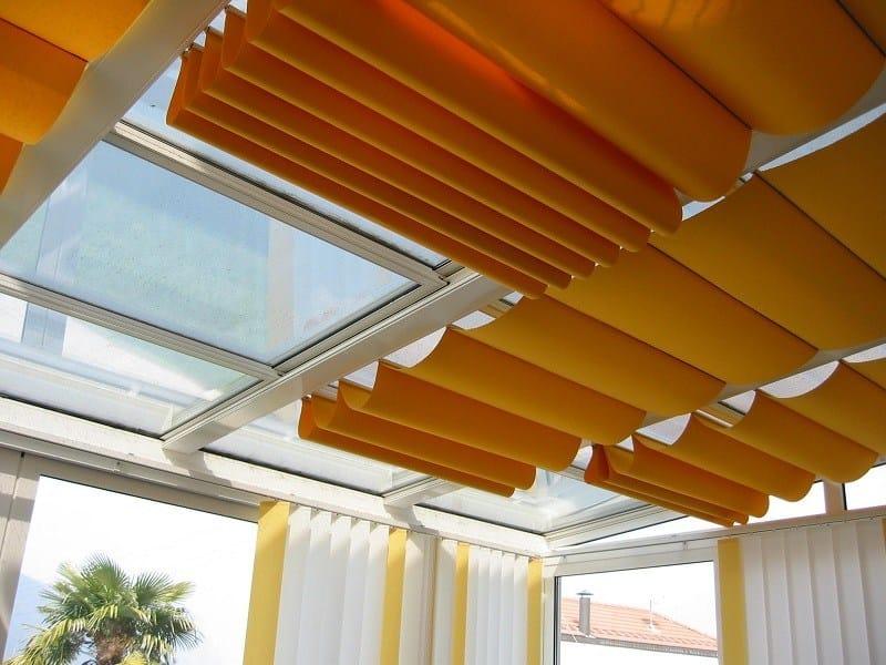 Sun protection skylight shade Protezione solare interna by FRUBAU