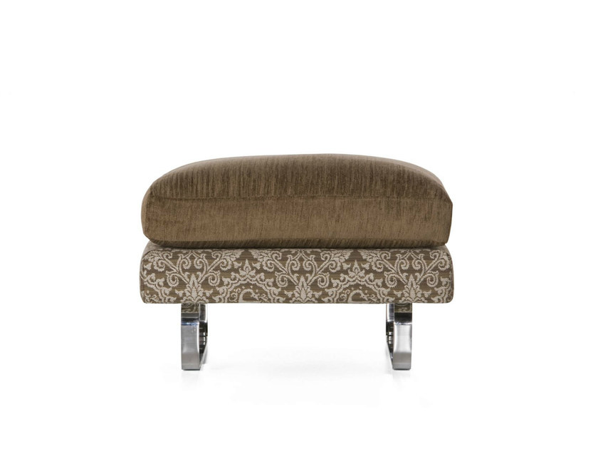 Cotton footstool BOUTIQUE MEDALLION | Footstool by moooi