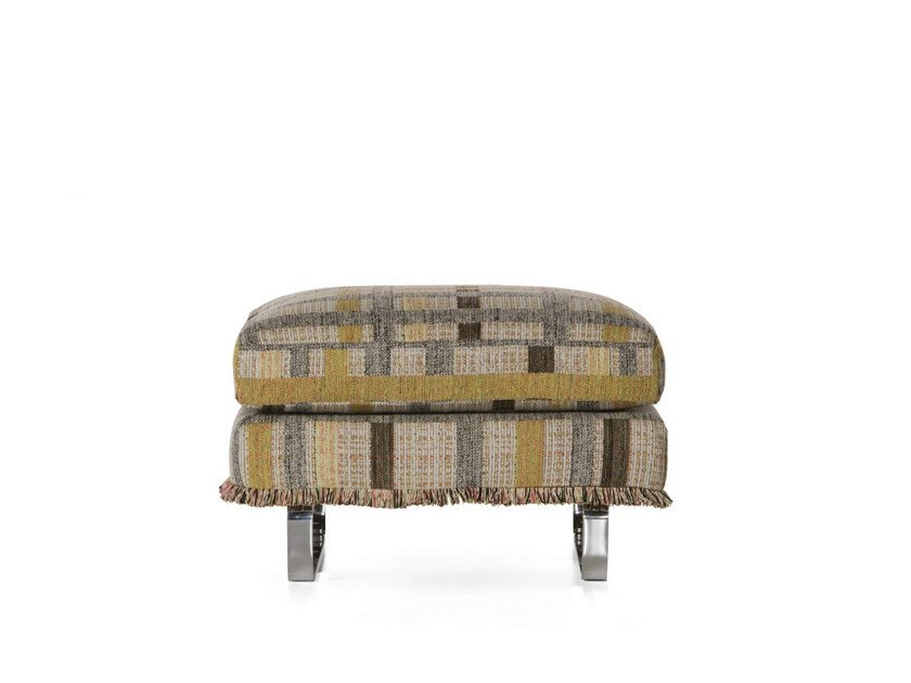 Synthetic fibre footstool BOUTIQUE COCO | Footstool by moooi