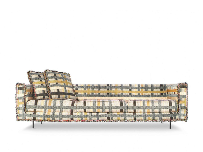 3 seater sofa with fire retardant padding BOUTIQUE COCO | 3 seater sofa by moooi