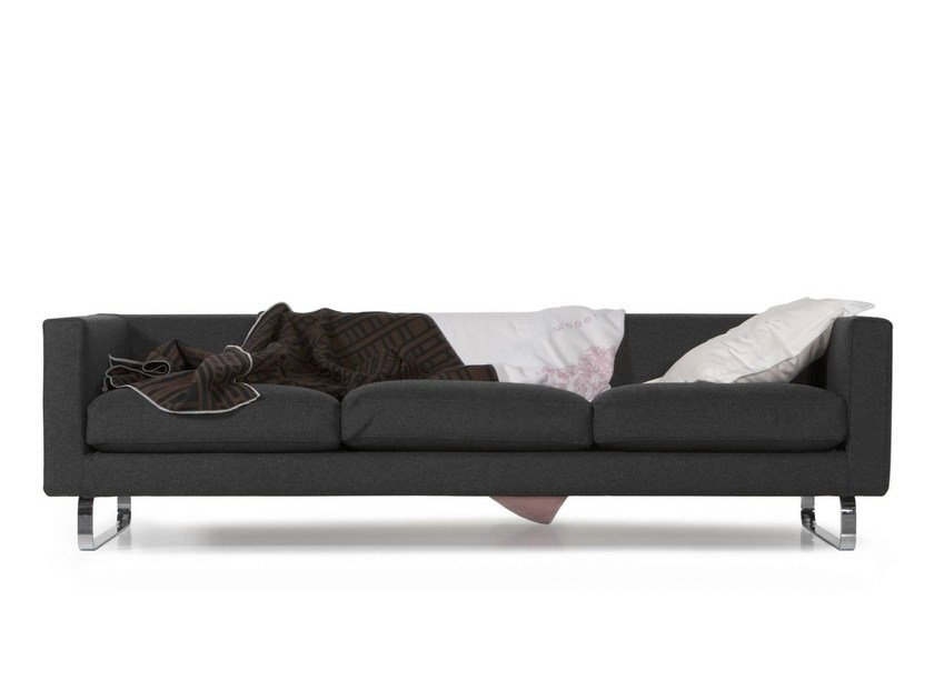 Expanded polyurethane sofa BOUTIQUE BLANKET NOVEMBER by moooi