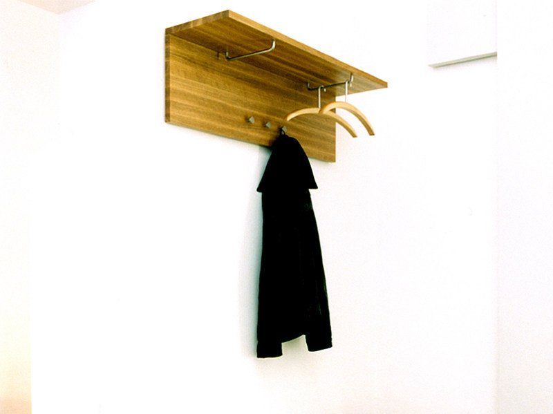 Wall-mounted wooden coat rack ARK | Coat rack by Nola Industrier