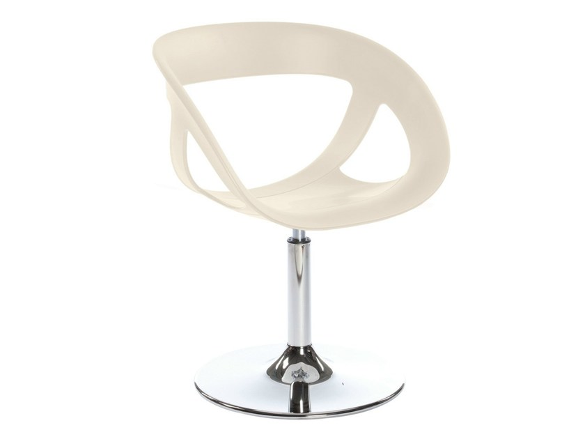 Technopolymer chair with armrests MOEMA 69 NAV by GABER
